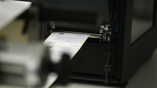 Automatic label inspection prevents labeling errors